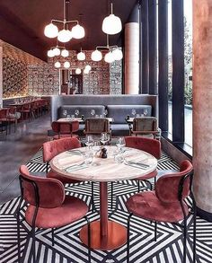 Graphic - Expolore the best and the special ideas about Hotel interiors Bar Interior Design, Design Exterior, Restaurant Interior Design, Cafe Interior, Cafe Design, Interior Design Inspiration, Interior Decorating, Studio Interior, Decoration Restaurant