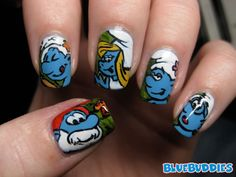 Google Image Result for http://bluebuddies.com/Smurf_Picture_and_Files/00000002/The_Smurfs_Nail_Art.jpg