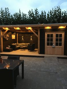 pergola how to build Douglas overkapping Garden Buildings, Home And Garden, Summer House, Backyard Design, Patio Design, House, Back Garden Design, Backyard Decor, Pool House