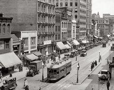 F Street N.W. from 14th Street, 1925. (Shorpy)