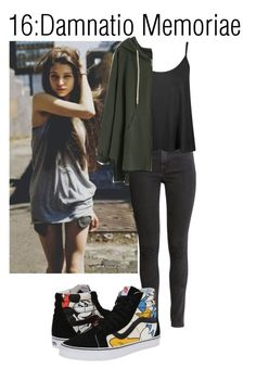 """Teen wolf"" by teddy-bear-princess on Polyvore featuring Mode, Magdalena, H&M und Vans"
