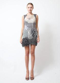 Rodarte | 2009 Runway Crochet Dress | RESEE