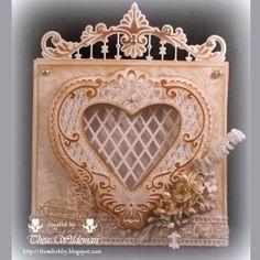 Kaartengalerij - Marianne Design Wedding Anniversary Cards, Wedding Cards, Cool Cards, Diy Cards, Art Deco Cards, Marianne Design Cards, Shabby Chic Cards, Handmade Card Making, Card Book