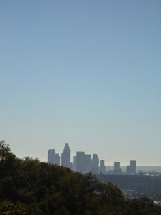 Downtown L.A., from Debs Regional Park