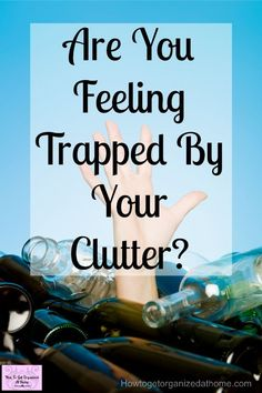 Looking for solutions for your clutter? Are you bursting at the seams of your home yet don't know why? It might be time to start decluttering your home! It can be life-changing and freeing! It will help you organize your home and reduce the stress that you feel! #declutter #decluttering #home