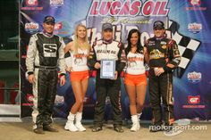 Danny Stratton, Sammy Swindell and Tony Stewart and Hooter Girls Dirt Tracks still have beauty queens, bikini girls, Hooter girls. or even all three