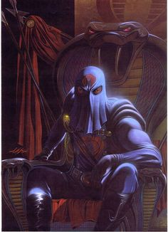 Original Comic Art titled G. Joe 4 Back Cover Cobra Commander Painting, located in Vartan's Bring on the Bad Guys Comic Art Gallery Thundercats, Cartoon Shows, Cartoon Art, Dojo, Comic Books Art, Comic Art, Marvel Comics Superheroes, Cobra Commander, Morning Cartoon
