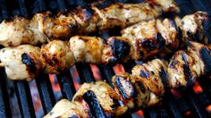 Lemon and honey BBQ chicken skewers| Recipes | Yours