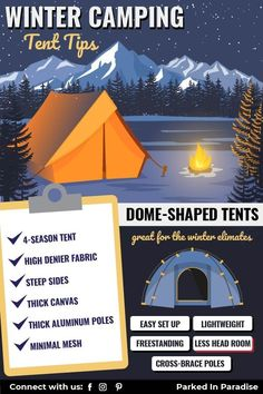 Complete guide on winter / 4-season tents. Tips and hacks for staying warm in extreme conditions. Great ideas and pointers for what to look for in a tent when camping in the snow. Make sure to stay warm when winter camping with kids! Winter Tent, Winter Camping, Camping With Kids, Cold Weather Tents, 4 Season Tent, Wall Tent, Tent Fabric, Tent Design, Roof Top Tent