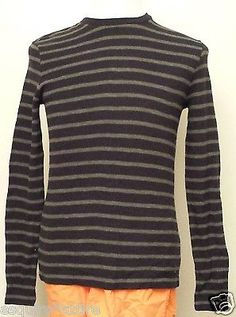 on sale: #VINCE men size S  cotton sweater stripes crewneck retail $120 withing our EBAY store at  http://stores.ebay.com/esquirestore