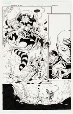 Guardians of the Galaxy 20 Page 7 featuring Rocket Raccoon Comic Art