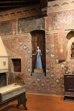 Museo della Casa Fiorentina Antica - Firenze - Camera delle impannate
