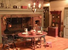Kitchen from Twin Manors - Structures & Rooms - Gallery - IGMA Fine Miniatures Forum