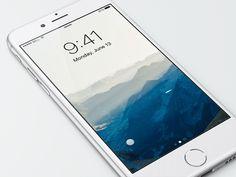 iOS 10 Passbook Widget - UI Movement