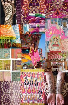 Calling At All New York Fashion Week 2018 Stations Indian Prints, Indian Art, Indian Textiles, Fashion Colours, Colorful Fashion, New York Fashion Week 2018, Cultural Crafts, Wedding Mood Board, Indian Patterns
