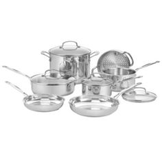 I would like to buy a Stainless Steel Cookware Set. This Cuisinart set is $169 at JC Penney