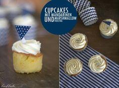 """AHOI – Cupcakes mit Mandarinen und Marshmallow-Frosting ODER """"Wenn Hamburg-Liebe auf's Backen abfärbt"""""""