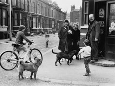 Street Scene in Mosside, Manchester 1968 Photographic Print by Shirley Baker - AllPosters.co.uk