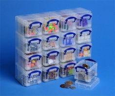 Really Useful 16x0,14 litrový,plastový priesvitný,odkladací box