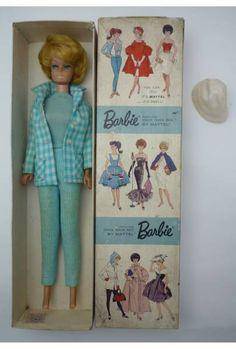 VIntage Barbie 1962 with Box!