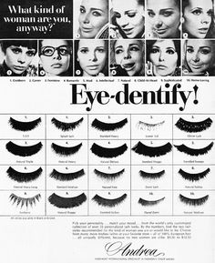 make up lashes Hair And Makeup Artist, Beauty Makeup, Eye Makeup, Hair Makeup, Hair Beauty, 1960s Makeup, Vintage Makeup, Vintage Beauty, Vintage Ads