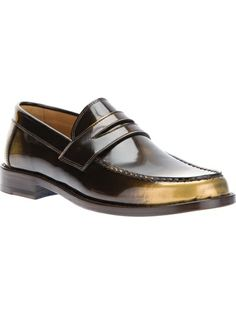 MARC JACOBS - brushed penny loafer 6