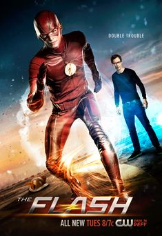 Barry Allen as The Flash & Earth-2 Harrison Wells - season 2 of The Flash