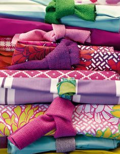 Gorgeous colors and patterns, Manuel Canovas.