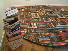 Book Mat - would make a wonderful table top if covered with a piece of glass