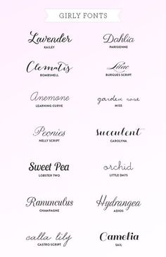 Tattoo Fonts More