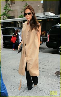 Victoria Beckham keeps it classy chic doing some shopping on Friday (May 10) in New York Citys meat packing district.