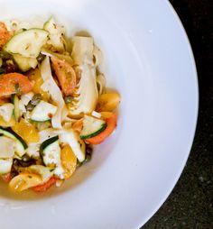 Quick, Fresh and Delish - Easy Healthy Pasta Dish