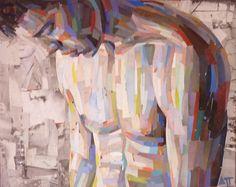 """Saatchi Online Artist: Dimosthenis Prodromou; Paper, 2011, Assemblage / Collage """"torso"""""""