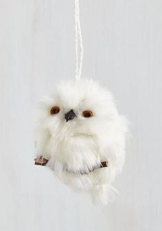 Forest to Arrive Ornament in Owl. This plush tree ornament is the first to arrive among your holiday decor, and the last to be tucked away! Woodland Christmas, Christmas Fun, Christmas Ornament, Vintage Decor, Retro Vintage, Cat Coasters, Cool Room Decor, Owl Ornament, Indie Outfits