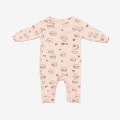 Girls' Clothing (newborn-5t) Organic Cotton Babygrow. M&s One-pieces