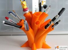 3D printed pen container by Dansy