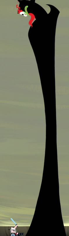 Tall Aku is tall   Samurai Jack   Know Your Meme