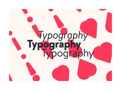 i  Typography by Philip von Borries #Design Popular #Dribbble #shots