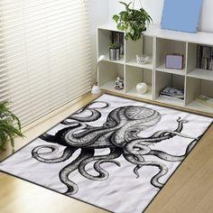 Vintage Octopus design art Blanket