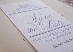 ood day to all our Pretty Blog readers! I'd like to share a free printable design that I am sure most will find really handy - Save The Date Bookmarks. So often I find that ensuring that your guests are aware of your big day (prior to the actual invitation being sent)... can become quite stressful.