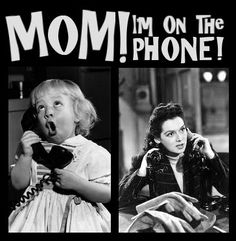 Back when we had several land line phones in the same house, you might accidentally pick up the phone during someone else's conversation.