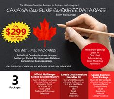 Canada business database and email list is for service advertising that covers all Canadian provinces with SIC codes. Marketing Tools, Business Marketing, Email Marketing, Marketing And Advertising, Direct Mail, Email List, Canada, Coding, Direct Mailer