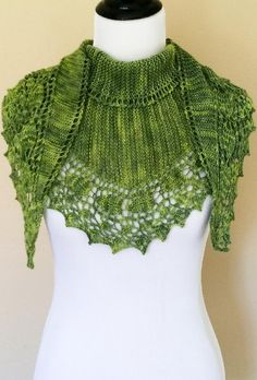 Pesto is a garter stitch shawl with lace border knit in one piece from end to end. It can be knit with one skein of sock yarn. The size of the shawl can be customized depending on the amount of yarn you have so it is the perfect pattern for making the most of a special skein of yarn! Instructions on how to do this are included.Charted and full written instructions are included.This pattern has been tested and professionally tech edited.Finished Size 67 inches x 15 inchesSuggested Yarn: Sweet...