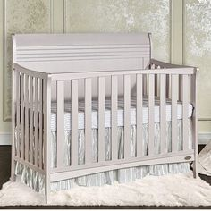 Dream On Me Bailey 3-in-1 Convertible Crib Finish: Blush Pink