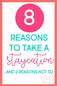 8 reasons to take a