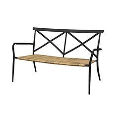 Oseasons 2 Seater Milos Rattan and Aluminium Arm Chair