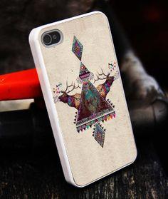 Deer Aztec Tiribal Color iPhone 5S caseiphone 5 by tigerredcase, $14.97