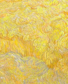 Vincent van Gogh, detail of Wheatfield With a Reaper