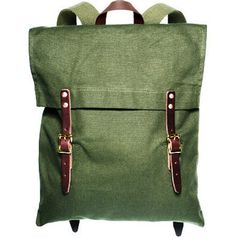 Duluth Pack Canvas Backpack (green) #bags #backpacks #accessories men's apparel