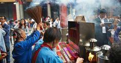 Dizem que as visitas semanais ao Templo Hsingtian, na Minquan East Road, garantem o sucesso profissional e pessoal. Como a maioria dos templos em Taiwan, é dedicado a várias divindades religiosas e populares